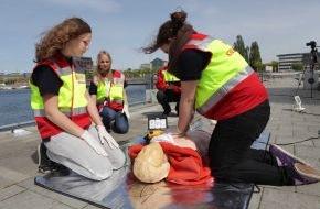 ASB-Bundesverband: Woche der Wiederbelebung im ASB: Prüfen. Rufen. Drücken: Erste Hilfe rettet Leben
