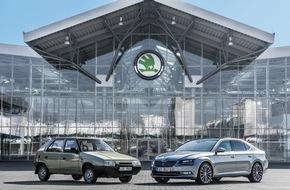 Skoda Auto Deutschland GmbH: Eine starke Partnerschaft: 25 Jahre SKODA und Volkswagen