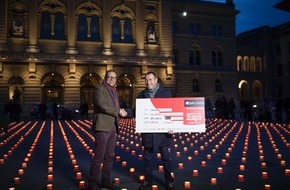 Caritas Schweiz / Caritas Suisse: Optic 2000 unterstützt Schuldenberatung der Caritas
