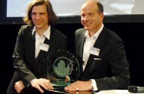 Secusmart: Secusmart ist das innovativste Unternehmen des Jahres / Das junge Düsseldorfer Hightech-Unternehmen Secusmart wurde mit dem Unternehmerpreis 2011 der Stadtsparkasse Düsseldorf ausgezeichnet.