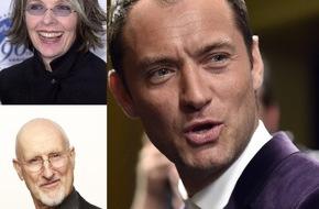 """Sky Deutschland: """"The Young Pope"""": Internationale Besetzung an der Seite von Jude Law und Diane Keaton"""