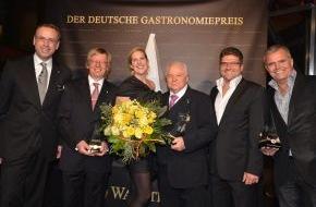 Warsteiner Brauerei: Deutscher Gastronomiepreis 2012 geht an Top-Gastronomen aus dem hohen Norden