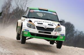 Skoda Auto Deutschland GmbH: SKODA gewinnt mit Lappi/Ferm die Rallye Lettland - Wiegand/Christian auf Platz fünf