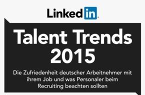 LinkedIn Corporation: LinkedIn Talent Trends Studie: Deutsche gehören zu Europas zufriedensten Arbeitnehmern