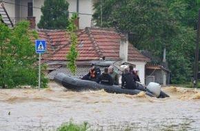 ASB-Bundesverband: Überschwemmungen in Bosnien und Serbien / ASB stellt 30.000 Euro für Hochwasserbetroffene zur Verfügung