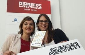 erdbeerwoche GmbH: erdbeerwoche gewinnt Post Startup Challenge am Pioneers Festival 2016