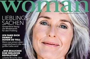 Gruner+Jahr, Brigitte Woman: Juliette Binoche geht gern an ihre Grenzen