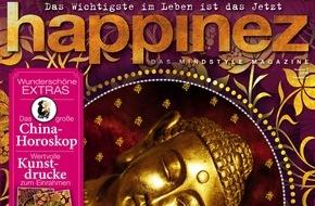 """Bauer Media Group, happinez: Bestsellerautorin Isabel Allende exklusiv in Happinez: """"In der Liebe geht es nicht ums Siegen."""""""