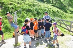 Nationalpark Hohe Tauern und Tiroler Naturparks: Abenteuer Klima Camps im Nationalpark Hohe Tauern