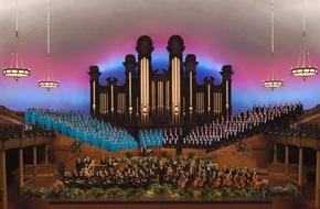 Kirche Jesu Christi der Heiligen der Letzten Tage: Mormon Tabernacle Choir: Karten für Europa-Tournee erhältlich