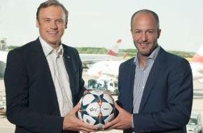 Sky Deutschland: Sky Österreich und der Flughafen Wien kooperieren:  Das beste Live-Sport-Programm ab Mai im gesamten Passa-gierbereich empfangbar (FOTO)