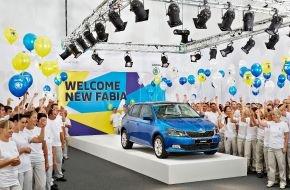 Skoda Auto Deutschland GmbH: Endlich geht's los: SKODA heißt neuen Fabia willkommen