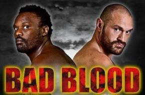 Sky Deutschland: Chisora vs Fury II - Bad Blood: Der Kampf um die Klitschko-Herausforderung am Samstag live bei Sky