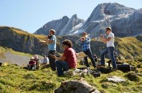 Alpenregion Bludenz Tourismus GmbH: Berge hören und Klöster schmecken in Vorarlberg