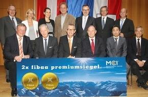 MCI Management Center Innsbruck: MCI internationale Spitze - Doppeltes Premiumsiegel für die Unternehmerische Hochschule®