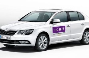 Skoda Auto Deutschland GmbH: SKODA unterstützt den ECHO 2014