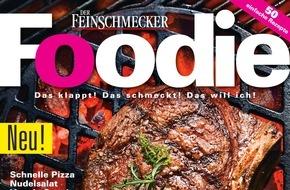 """Jahreszeiten Verlag, DER FEINSCHMECKER: """"Erfolgreicher Start für FOODIE - dem neuen Magazin von den Machern von DER FEINSCHMECKER"""""""
