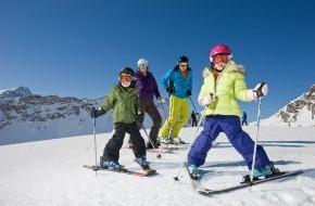 Alpenregion Bludenz Tourismus GmbH: Skikurs mit Erfolgsgarantie im Klostertal und gratis Skipass für Kinder im Brandnertal