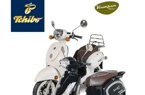 Tchibo GmbH: Elektro-Roller im Retro-Look bei Tchibo