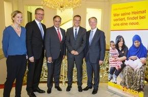ASB-Bundesverband: Parlamentarischer Abend des ASB: Hilfe für Flüchtlinge im In- und Ausland