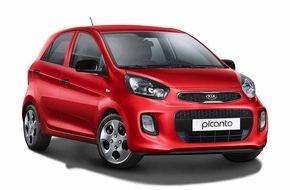 KIA Motors Deutschland GmbH: Start-Version für Kia Picanto und Rio