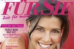 """Jahreszeiten Verlag, FÜR SIE: FÜR SIE-Exklusiv-Umfrage* ergibt: """"Fast die Hälfte der Deutschen glaubt an neue Familienmodelle"""""""