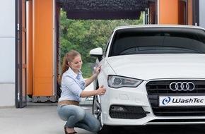 WashTec: Sauber ist nicht genug: In Zukunft erwarten Kunden von Waschanlagen höhere Umweltverträglichkeit und digitale Services bei der Fahrzeugwäsche / Forsa Trend-Umfrage zum Autowaschen