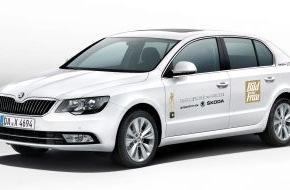 Skoda Auto Deutschland GmbH: SKODA fährt die Gäste zur 'Goldenen Bild der Frau'