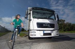Berufsgenossenschaft für Transport und Verkehrswirtschaft: BG Verkehr startet Online-Umfrage zu Kamera-Monitor-Systemen für Lkw / Unter den Teilnehmern werden ein iPad und 15 Power Banks verlost