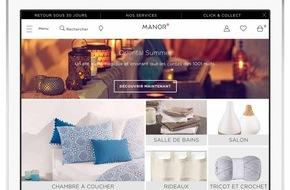 Manor AG: Lancement du nouvel assortiment Maison & Ménage sur manor.ch