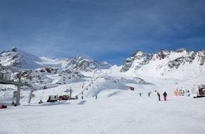 Tirol Werbung: Ein halber Meter Neuschnee in Tirol Â� Schneebericht vom Pitztaler Gletscher - ANHÄNGE