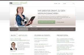 news aktuell GmbH: dpa-Tochter news aktuell mit neuer Homepage