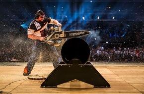Stihl Timbersports: Sportholzfäller aus Neuseeland und Australien dominieren STIHL TIMBERSPORTS®-WM 2014 - Jede Menge Kleinholz