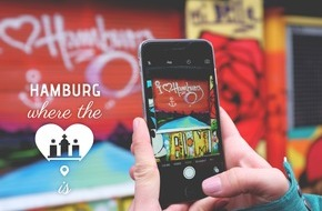 "Hamburg Marketing GmbH: ""Hamburg - where the heart is"" präsentiert die coolen Seiten Hamburgs"