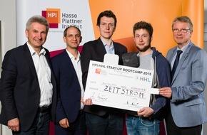 HPI Hasso-Plattner-Institut: Vier Studierende aus Brandenburg und Sachsen gewinnen 50.000 Euro für ihr Start-up