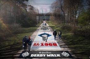 HSV Fußball AG: HSV-Presseservice: König Pilsener präsentiert: Der König Pilsener Derby Walk