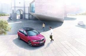 Skoda Auto Deutschland GmbH: SKODA Rapid Spaceback als umfangreich ausgestattete Sonderedition Style+