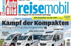 AUTO BILD: Das Magazin für die Freiheit unterwegs - Die neue AUTO BILD REISEMOBIL ist da