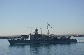 """Presse- und Informationszentrum Marine: Die letzte Rückkehr der """"Hyäne"""" - Zum letzten Mal wird ein Schnellboot zurück aus einem Einsatz erwartet. Eine Ära der Marinegeschichte endet."""