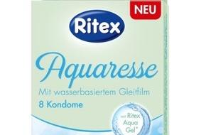 Ritex GmbH: Die ersten Ritex Kondome mit wasserbasiertem Gleitfilm