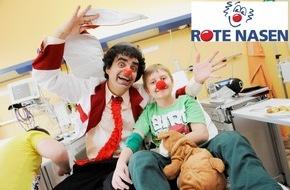 ROTE NASEN: Star-Tenor Rolando Villazón spendet 10.000 Euro an Clownorganisation ROTE NASEN