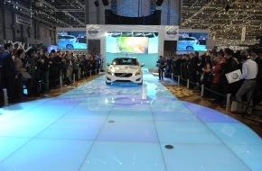 """Volvo Car Switzerland AG: Volvo Stand am Automobilsalon in Genf mit """"Creativity Award 2011"""" ausgezeichnet"""