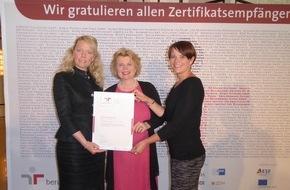 """PepsiCo Deutschland GmbH: Familienbewusstsein ist Chefsache: PepsiCo Deutschland erhält Zertifikat zum """"audit berufundfamilie"""""""