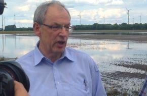 Deutscher Bauernverband (DBV): DBV-Generalsekretär informiert sich über die Hochwassersituation Sachsen-Anhalts - Große Hilfsbereitschaft unter den Bauernfamilien