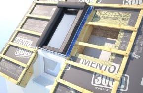MOLL bauökologische Produkte GmbH: Dach+Holz 2014: Erster emissionsgeprüfter Dachaufbau: Wohngesundes System mit Luftdichtung von pro clima / Neue Online-Plattform für schadstoffgeprüfte Bauprodukte