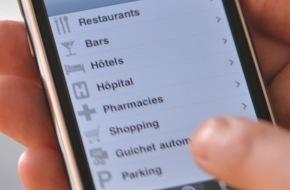 """local.ch: local.ch: application """"Annuaire téléphonique"""" pour l'iPhone 4"""