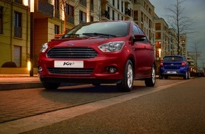 Ford-Werke GmbH: Kleines Auto mit großem Gegenwert: Neuer Ford KA+ glänzt mit Raumangebot, Wirtschaftlichkeit und Fahrspaß