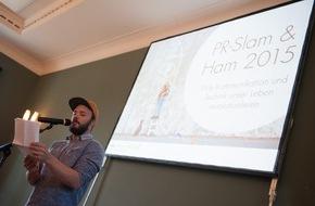news aktuell GmbH: Lernende Maschinen und die Unmöglichkeit des Innovationsmanagements: PR-Slam & Ham in Frankfurt
