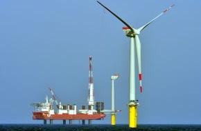 Trianel GmbH: Trianel Windpark Borkum trotzt schwierigen Wetterbedingungen / Winterkampagne im Stadtwerke-Windpark im Plan