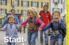 Wandermagazin SCHWEIZ: Wandermagazin SCHWEIZ: Lust auf Stadt